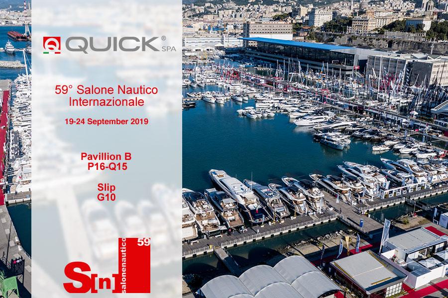 Quick al Salone Nautico Internazionale di Genova 2019