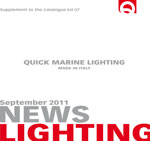 Sfoglia il catalogo Quick Marine Lighting News 2011